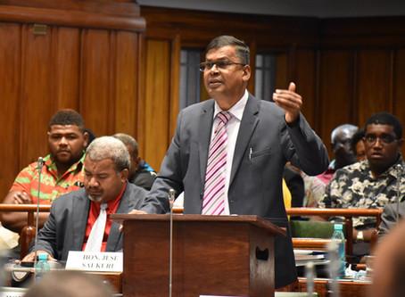 Hon. Biman Prasad - Response to H.E.'s Speech on the Opening of Parliament Nov 2019