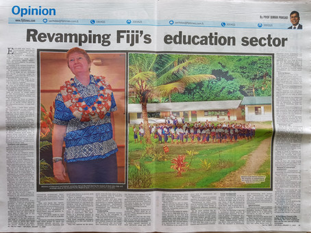 Revamping Fiji's Education Sector