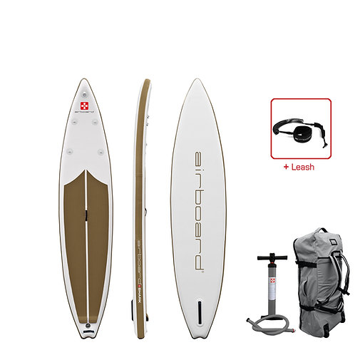 Airboard Shark light Edition gold 12'6
