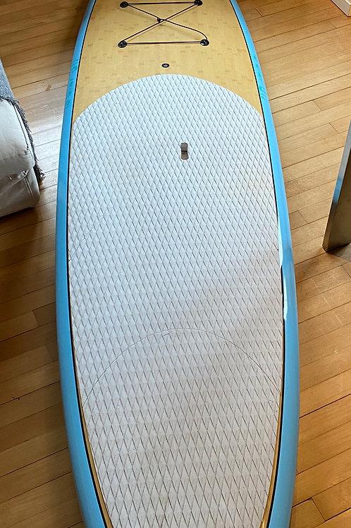 Occasion Hardboard blau Bambus11'0