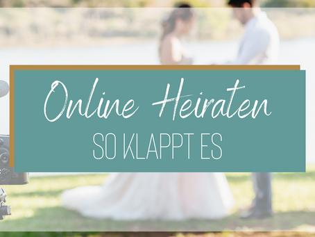 Online heiraten - So funktioniert's
