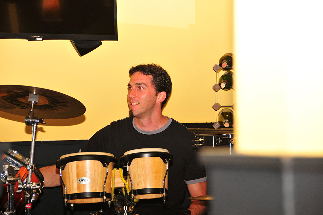 Brad bringing the beat!