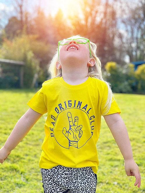 Kids Golden Yellow - Neon Edit