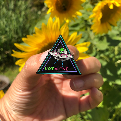 Not Alone Pin