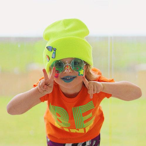 Kids Bright Orange - Neon Edit