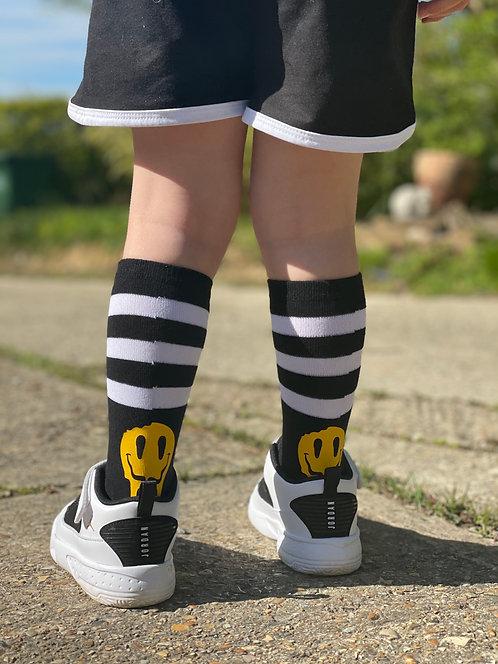 Sk8rs Gonna Sk8 Smiley Socks