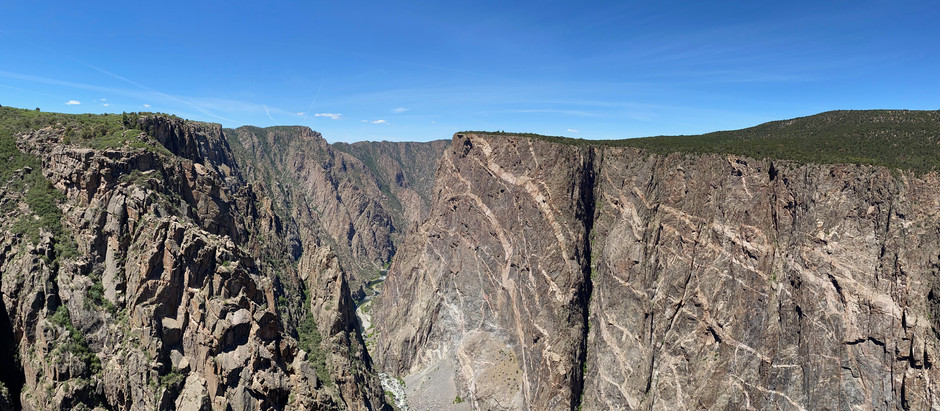 Descent into Black Canyon