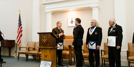 Evergreen Lodge259 installation of officers 2020