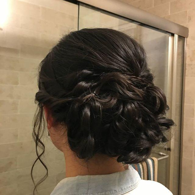 Bridal trial by Tatiana! Bridesmaid hair