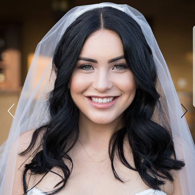 Our beautiful bride! Makeup And Hair by