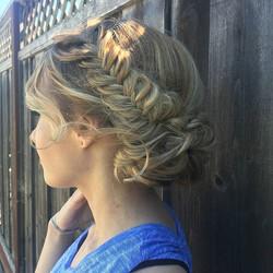 Bridal makeup and hair trial by Tatiana!