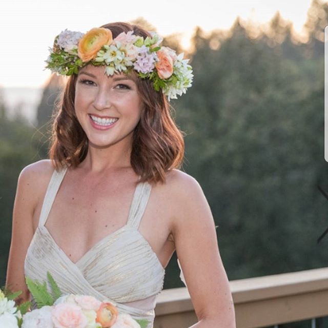 Makeup and Hair for this beautiful bride