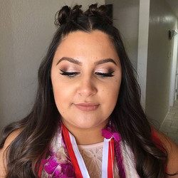 Graduation makeup by Tatiana! #MOTD #mua