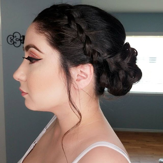 Bridesmaid Makeup and Hair by _atouchofm