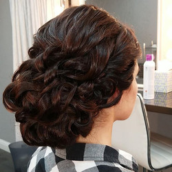 Bridal textured updo, coming right up! B