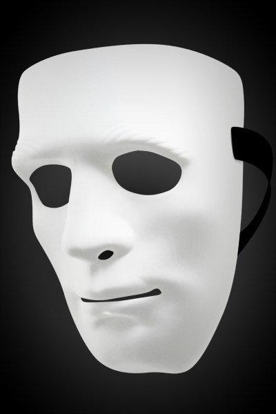 Λευκή άκαμπτη μάσκα - Don Juan