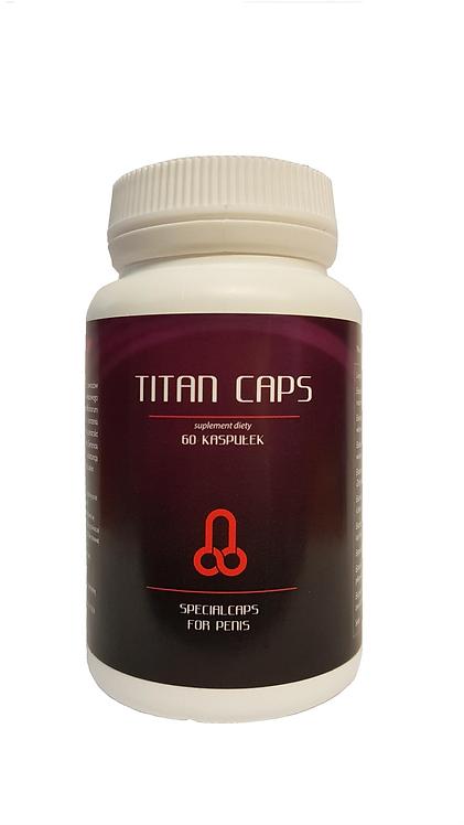 Συμπλήρωμα διατροφής για Μεγέθυνση και Στύση-Titan caps 60 Ταμπλέτες