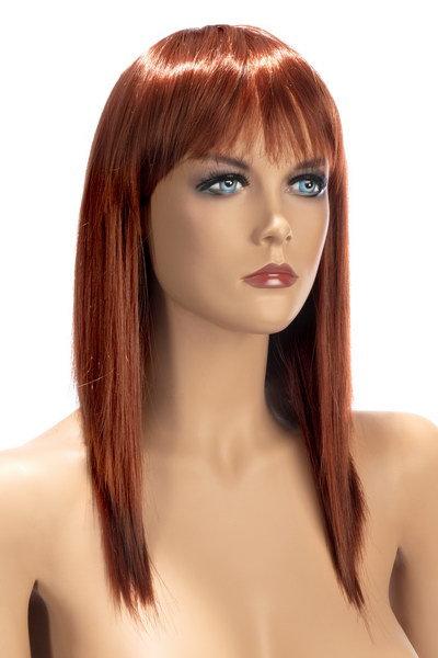 Περούκα Μάκρια Κοκκινο χρώμα - ALLISON