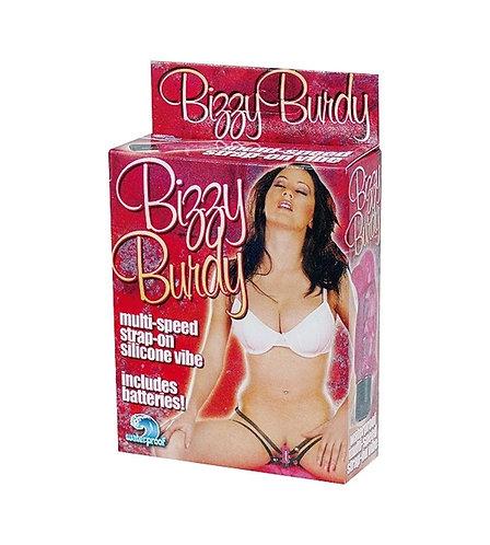 """Διεγερτής Κλειτορίδας Πεταλούδα """"Bizzy Burdy"""" (6cm) - Ροζ"""