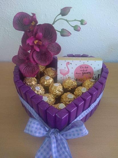 Schokoladenherz - klein