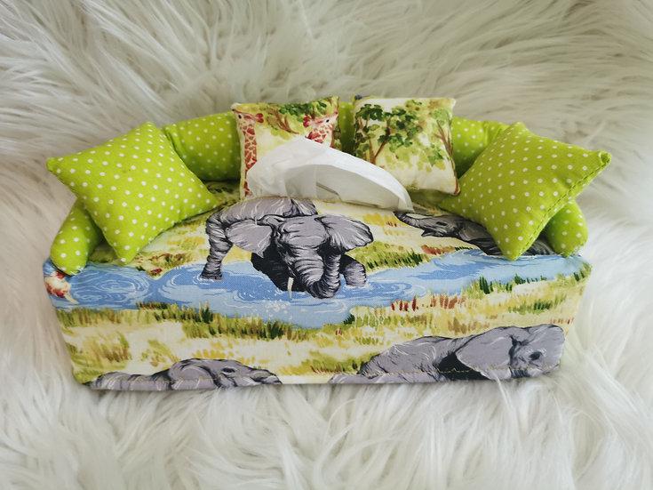 Taschentuchsofa Afrika Design