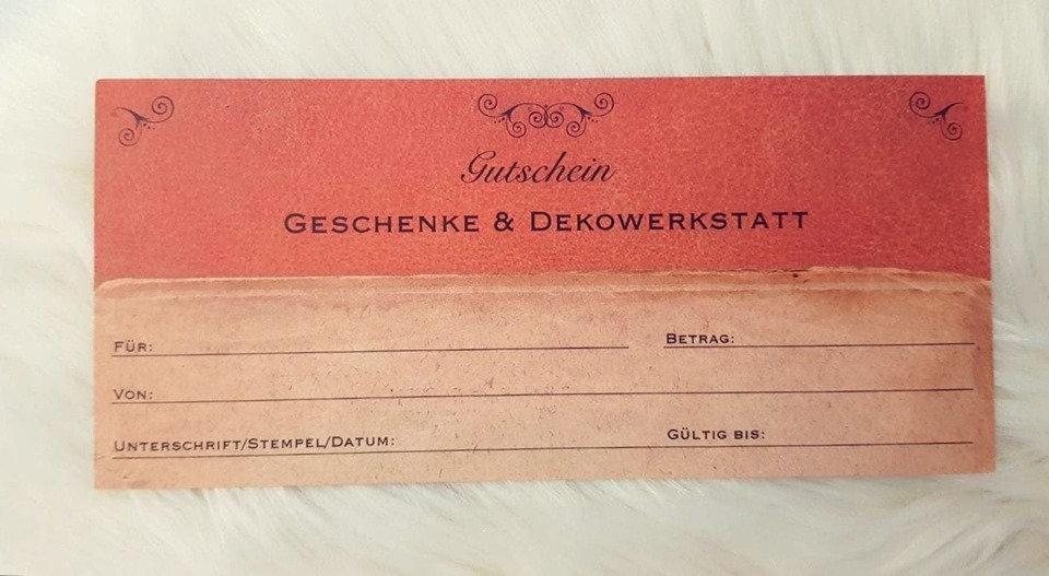 Gutschein im Wert von 20€