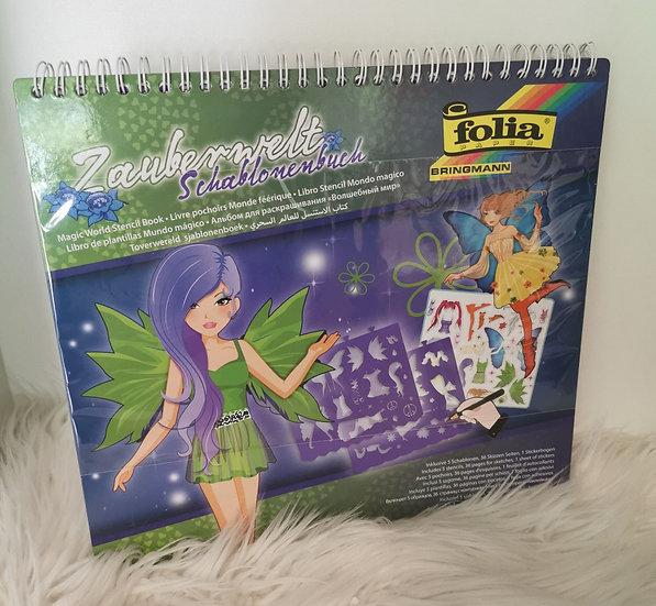 Zauberwelt Schablonenbuch