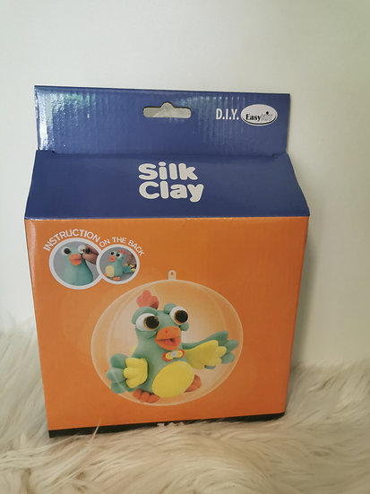 Silk Clay Set Vogel, Knetset