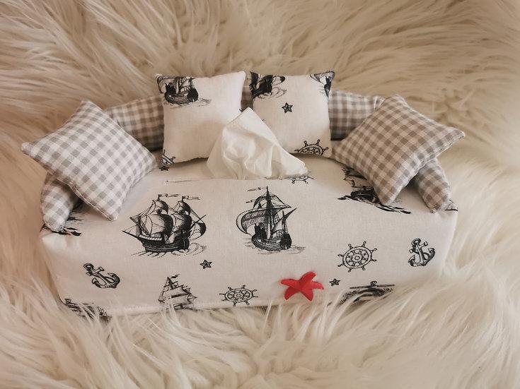 Taschentuchsofa Maritim Design