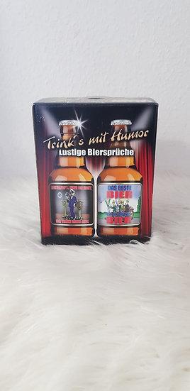 Bier - Trink's mit Humor