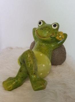 Frosch, liegend