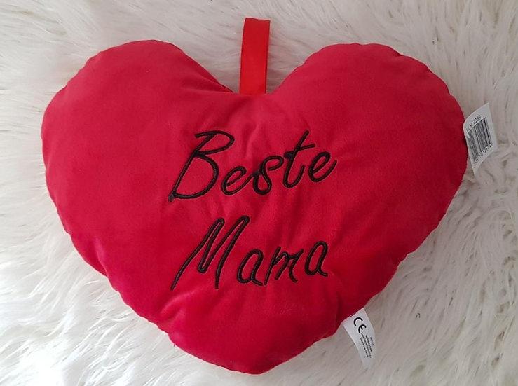 Herzkissen - Beste Mama