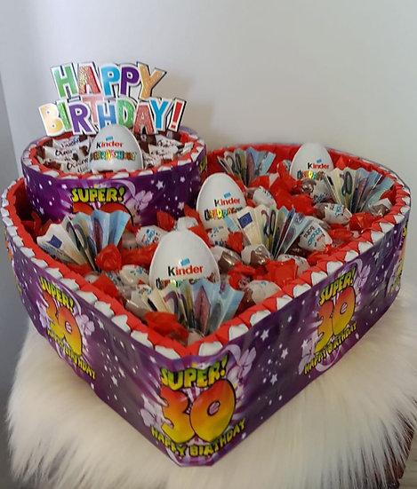 Geburtstagstorte, Herz
