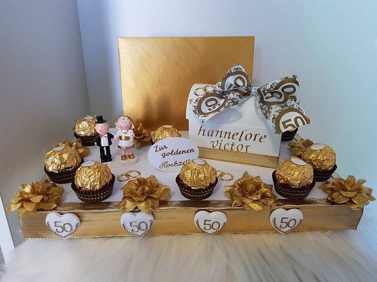 Zur Goldenen Hochzeit - Geldgeschenk