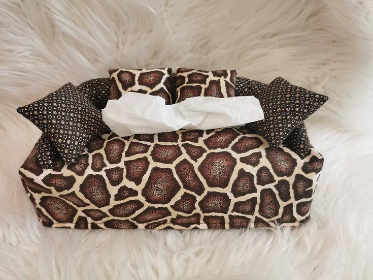 Taschentuchsofa Leopard Design