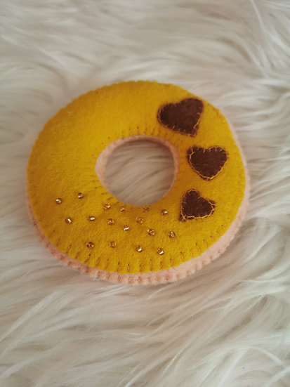 Donut Senfgelb