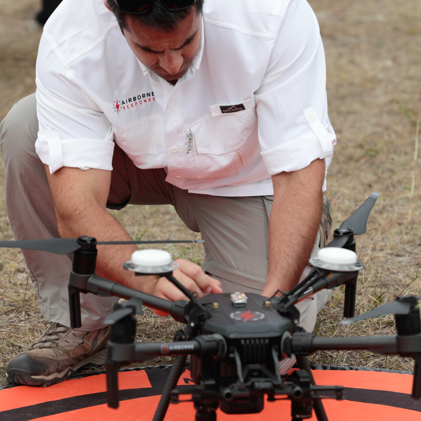 Airborne Response Drone Unmanned Aircraf