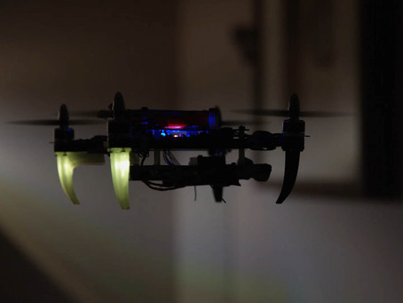 Security Patrol Drones Protecting Your Home via Machine Learning Algorithm