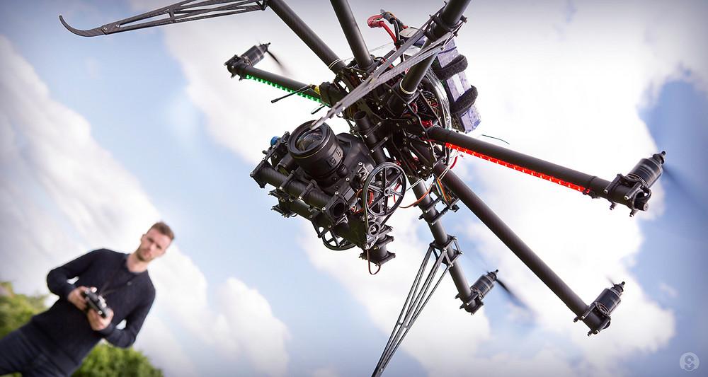 entrepreneurs are leading the new drone economy
