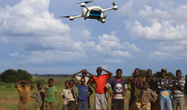 New drone testing range in Africa