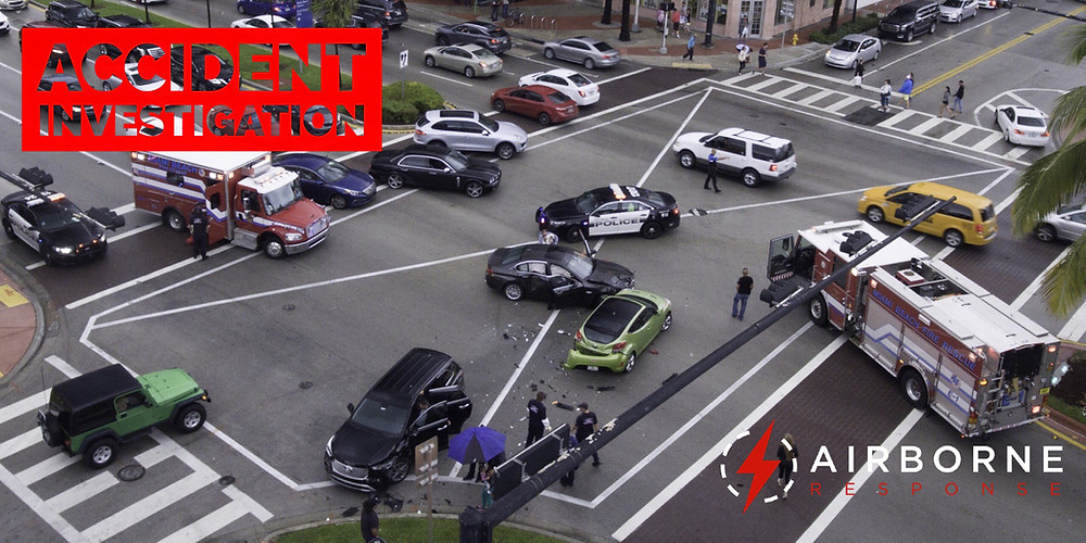 Traffic Accident Investigation is an Emerging Use Case for Drones