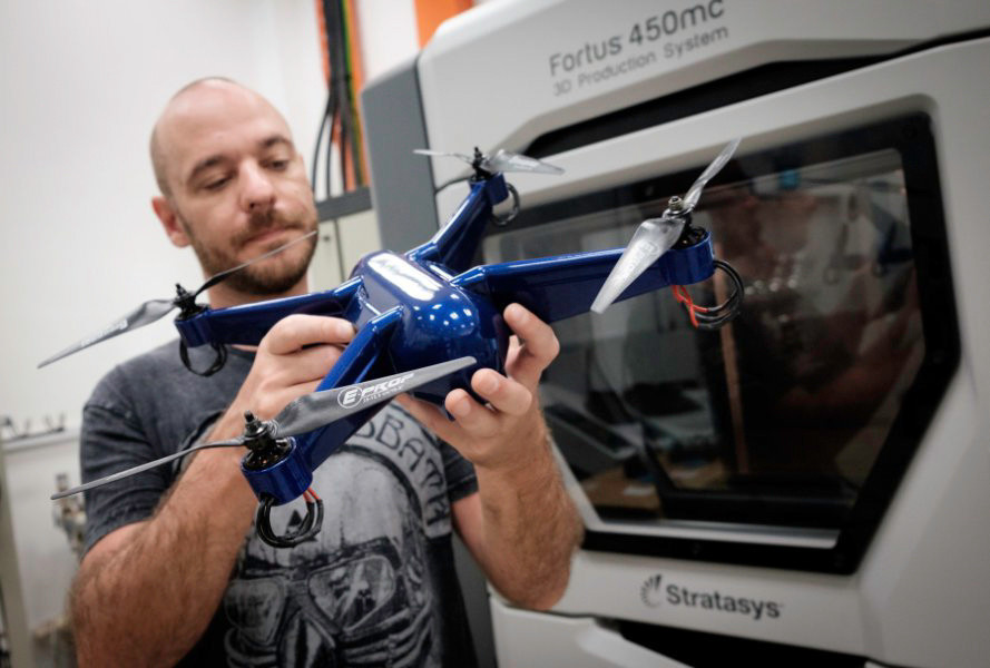 3D Printers are now making flight-ready drones