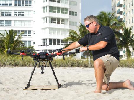 PHOTO: Testing the New DJI Matrice 600 Pro on Miami Beach