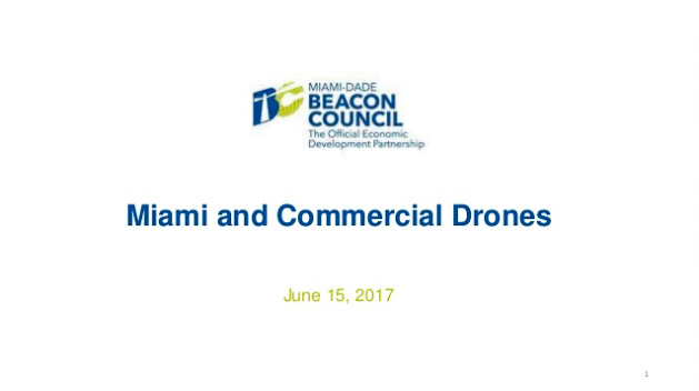 Miami and Commercial Drone Slide Presentation