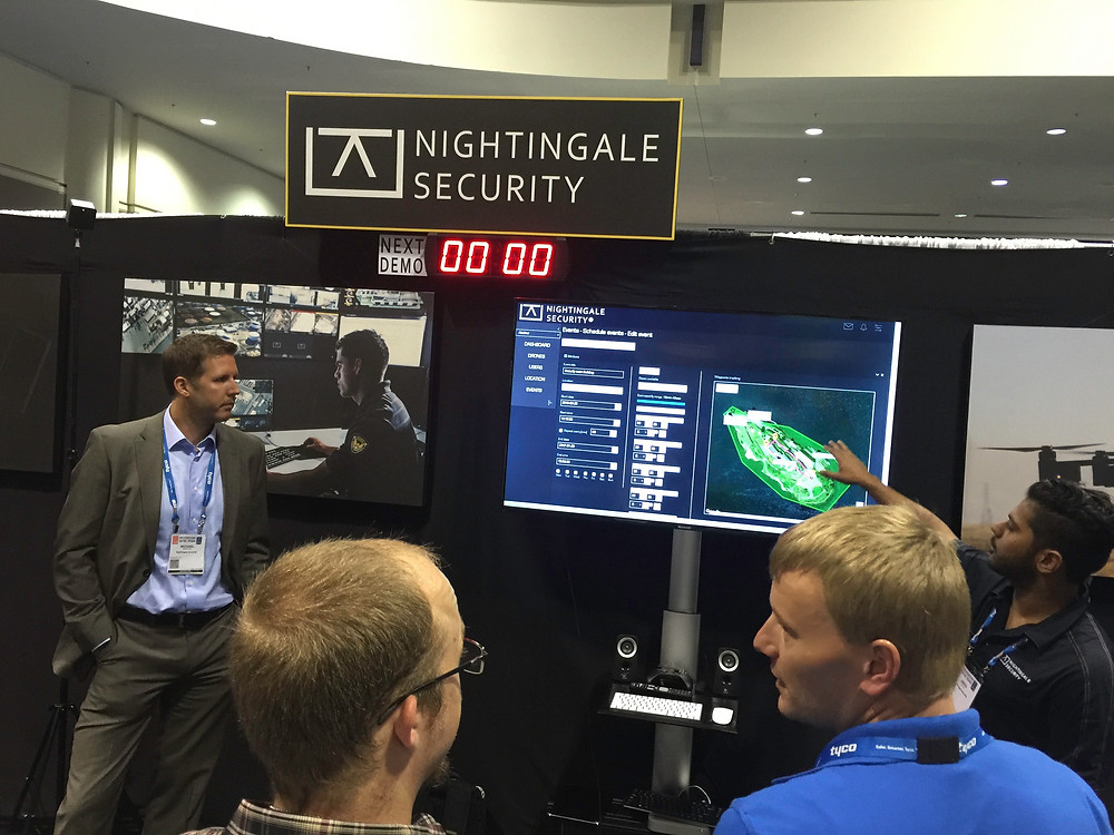 Nightingale Security at ASIS 2016