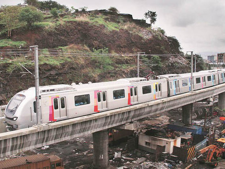 CASE STUDY: Drones Conduct Aerial Mapping for Mumbai Metro Construction