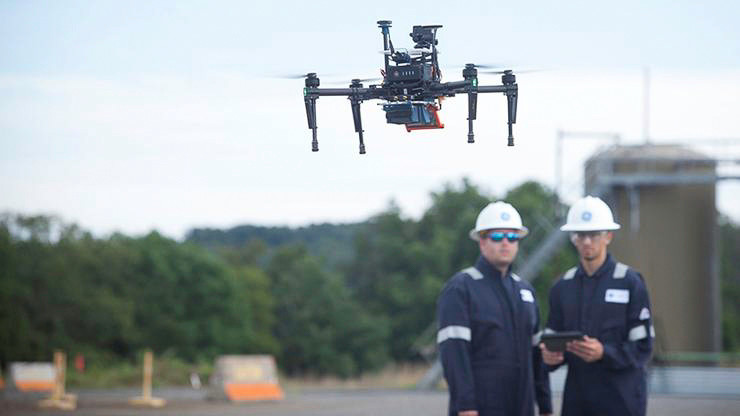 GE's new Raven drone can detect gas leaks