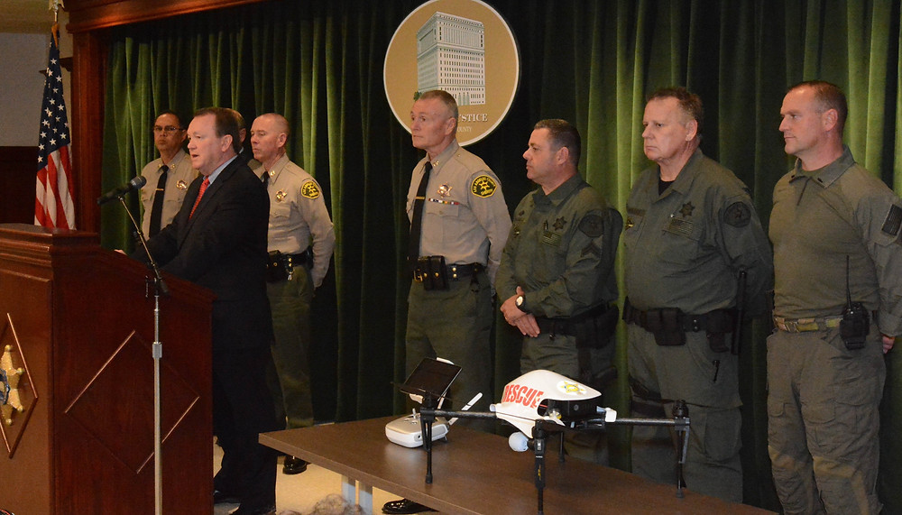 Los Angeles County Sheriff's Department Launched Drone Program