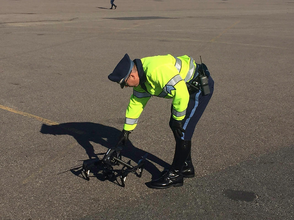 Mass. State Police using drones to investigate auto accidents