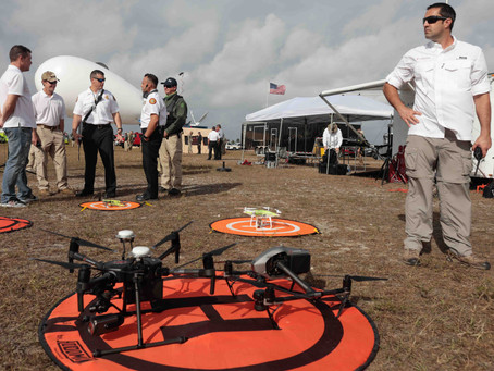 Airborne Response supports National Guard and First Responders with Drones and Aerostats for Full-Sc